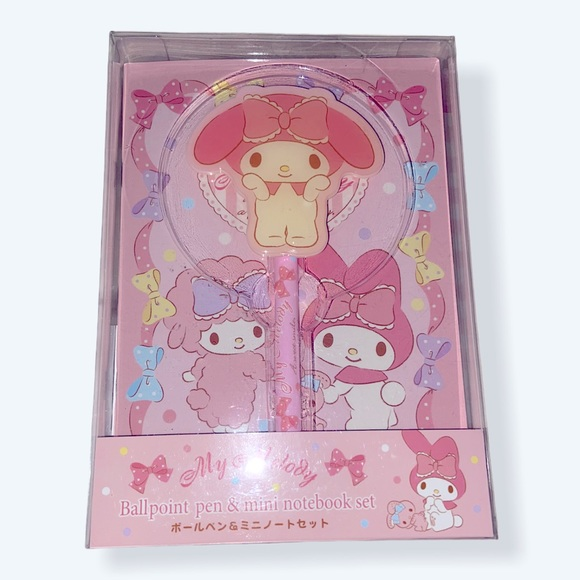 My Melody pen and notebook set